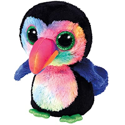Ty Beanie Boos Beaks - Toucan Bird reg: Toys & Games
