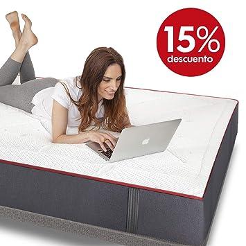 Colchones Morfeo 105x190 | Hybrid System | Micromuelle-Viscoelastica-Grafeno. El Mejor colchón para Dormir, dureza Media Alta.