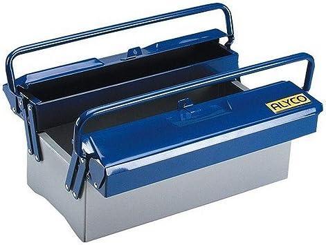 Alyco 192731 - Caja de herramientas metalica de 3 bandejas 420 x ...