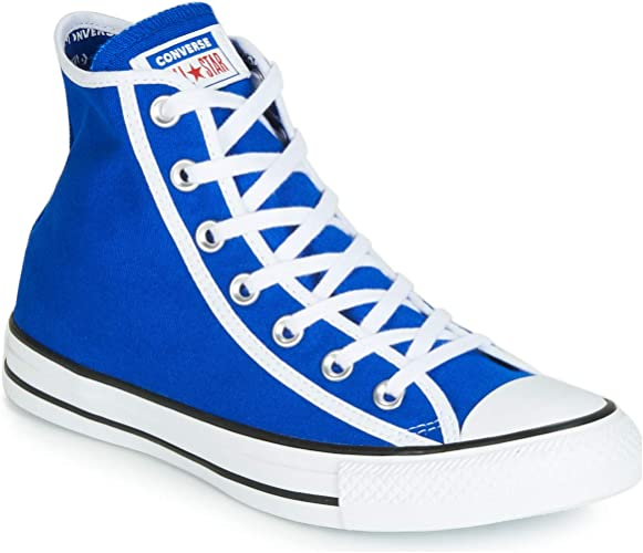 converse all star blu alte uomo