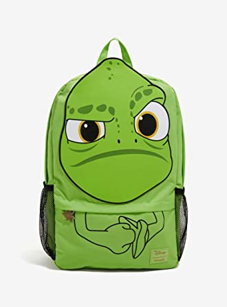 Amazon Com Loungefly Disney Tangled Pascal Backpack Clothing