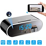 Hidden Camera Spy Camera Wireless Hidden, 1080P WiFi Camera Nanny Cam for Home Security Camera, Strong 12 Night Vision Lights IP Camera with 12 Levels Motion Detection, Support Remote Vision