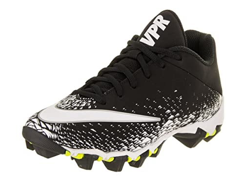 ee42d04bd82e Nike Boy's Vapor Shark 2.0 (GS) Football Cleat Black/White/Metallic Silver
