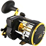 Isafish Spinning Reel Trolling Boat Fishing Reels Counter Alarm Bell Drum Fishing Vessel Plate Baitcasting Wheel