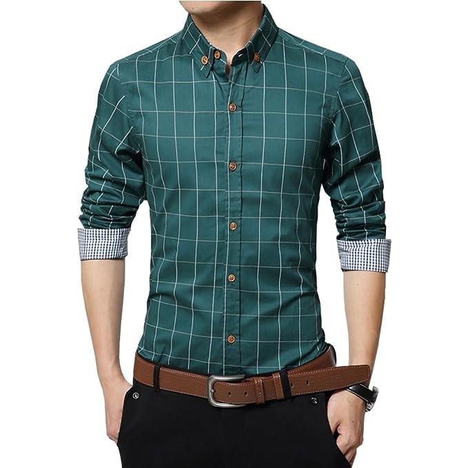 Gfirmament Camisa Casual - para Hombre 8inyXm1E
