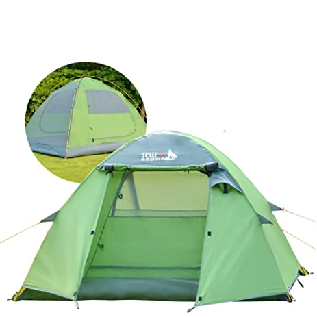 Outdoor personu0027s tent/3-4 four seasons tents people/rain-proof aluminum  sc 1 st  Amazon.com & Amazon.com: Outdoor personu0027s tent/3-4 four seasons tents people ...