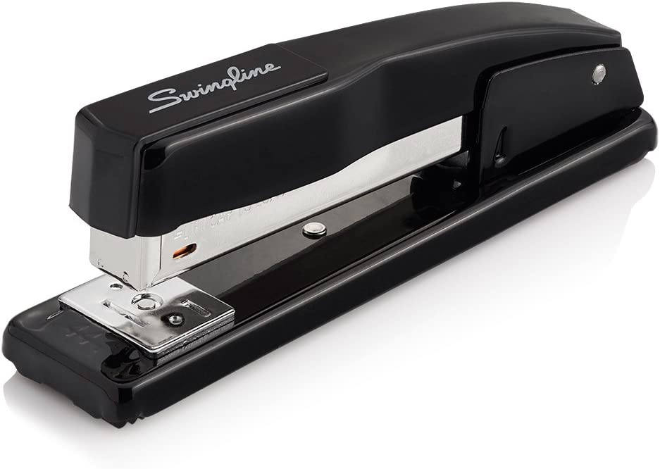 Swingline Stapler, Commercial Desktop Stapler, 20 Sheet Capacity, Portable, Durable Metal Desktop Stapler for Home Office Supplies, Classroom or Desktop Accessories, Black (44401) : Office Products