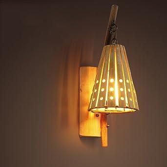 à manger plafonnier en bois table LED pendentif lumière 8n0wmN