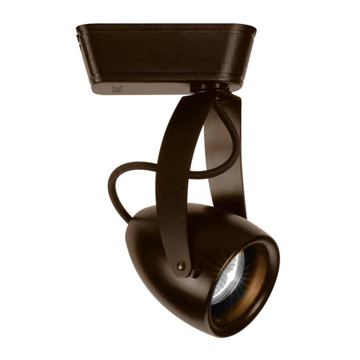 WAC Lighting J-LED810F-930-DB J Series LED810 Impulse LED Low Voltage Track Head in Dark Bronze Finish, Flood Beam, 90+CRI and 3000K