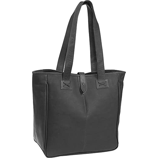 Amazon.com  Clava Oversized Tote - Vachetta Black  Beauty 3c791a61d7bd6