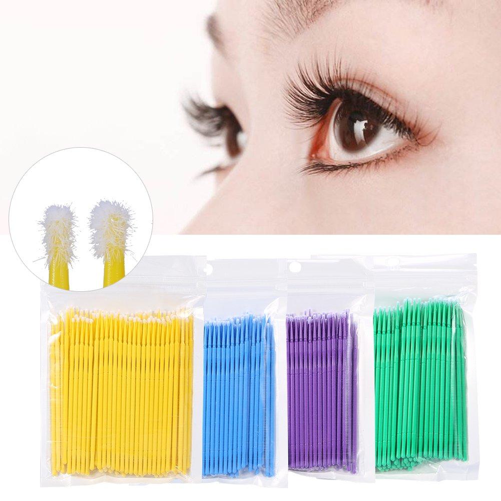 Disposable Eyelash Brush, 400Pcs Mascara Wands Eyelash Extension Makeup Micro Applicator Brushes ZJchao