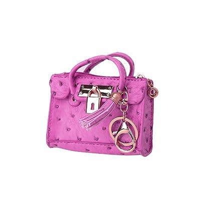 Amazon.com: SimpleLif - Mini bolso de mano con borla para ...