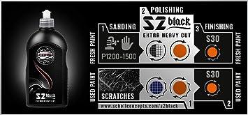 Scholl Concepts S2 Black Hochleistungspaste 500g Auto