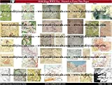 Reality In Scale 1:35 War Maps WWII - Set of 32 for 5 Countries - Print #35190