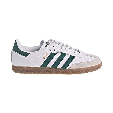 0d23fd110 adidas Samba OG Men s Shoes Cloud White Collegiate Green Crystal White  b75680 (8