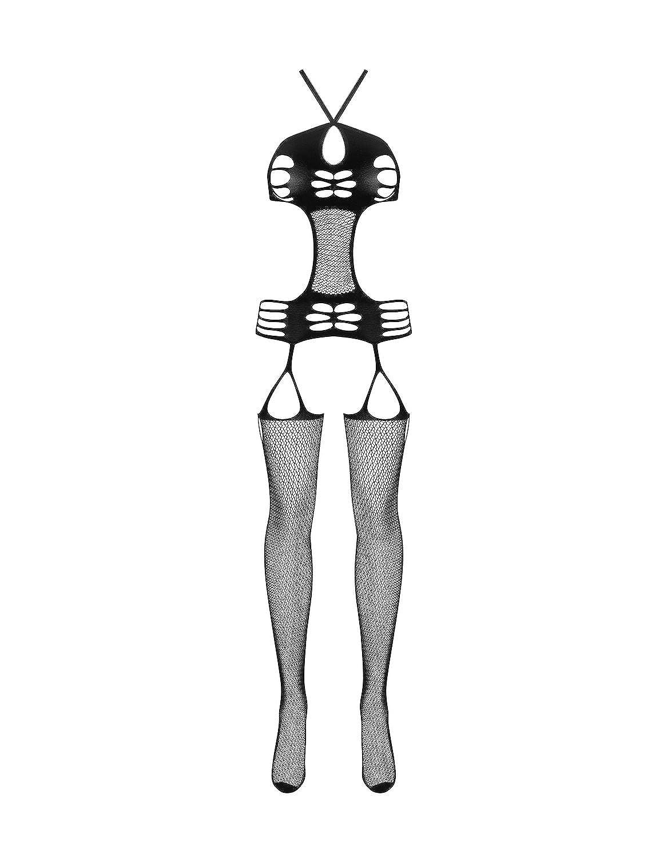 Obsessive Damen Bodystocking im Straps-Look