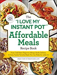 175 recipes for quick and delicious meals in the Instant Pot—today's hottest kitchen appliance—that the whole family will love for under $12 a meal. Eating well doesn't need to cost a fortune. And with the Instant Pot, it no longer requires a...