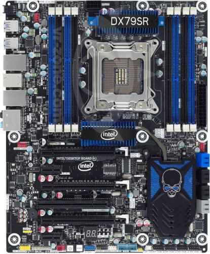 Intel Motherboard for LGA 2011 Socket   DDR3 2400 Intel - LGA 1155 BOXDX79SR