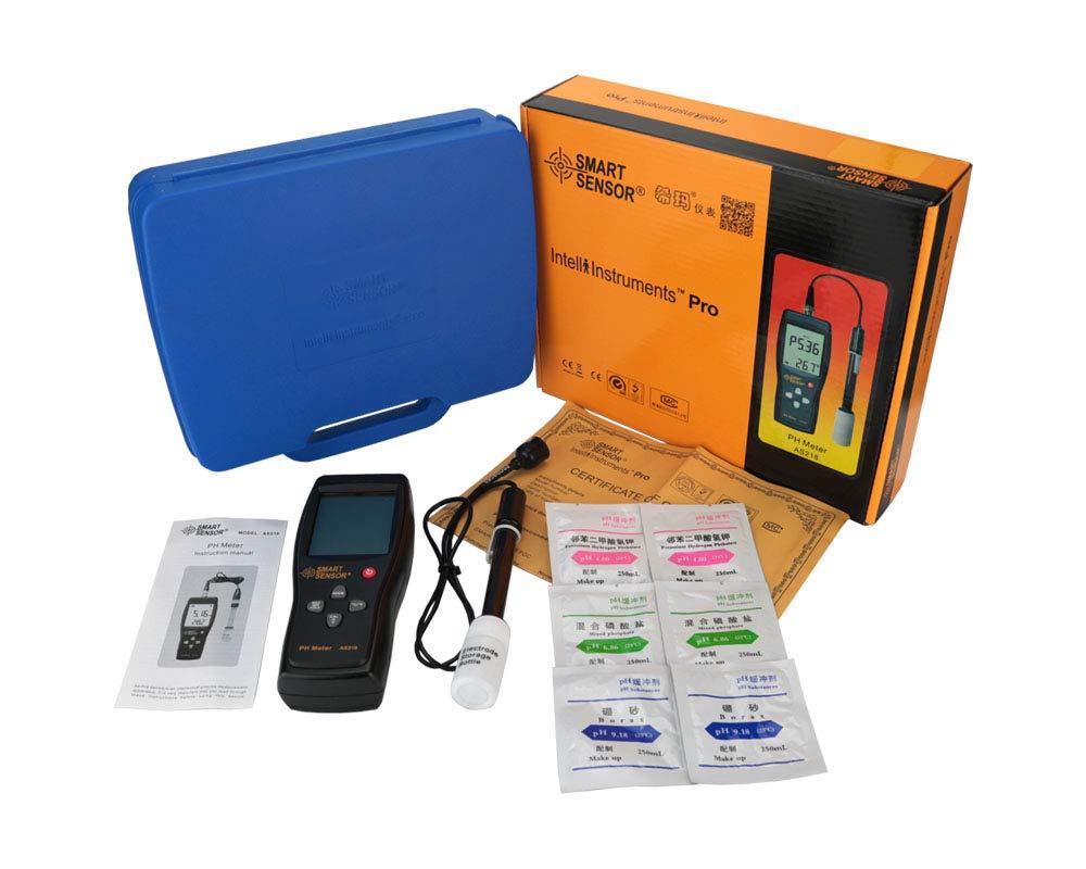 misuratore di pH del terreno misuratore di acidit/à dellacqua Misuratore digitale di pH del terreno strumento di misurazione dellumidit/à 0,00~14,00 pH.