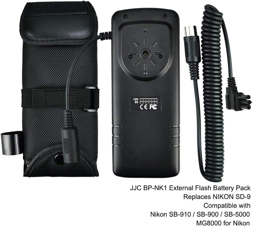 JJC Flash Externo de Batería Pack para Nikon SB-910 SB-900 SB-5000 ...