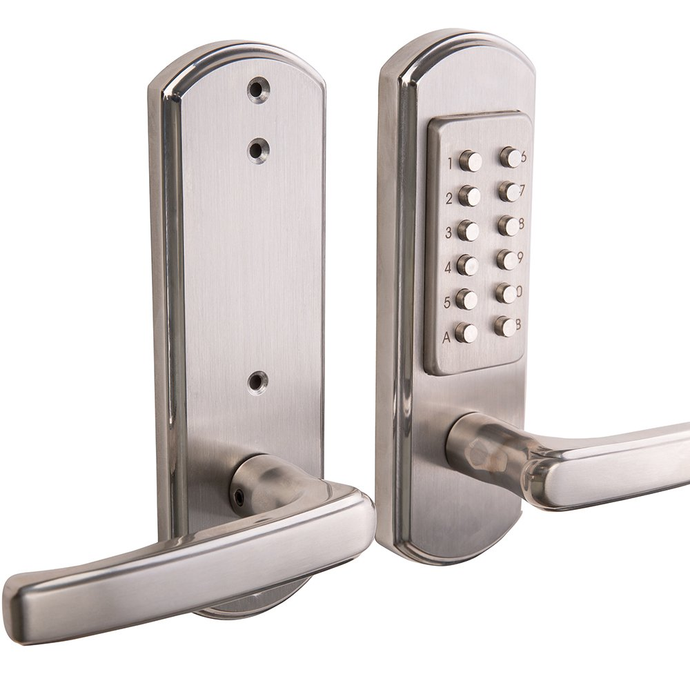 Bravex Keyless Entry Lock Door Keypad Mechanical Security ...