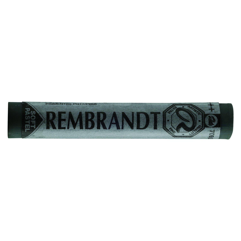 Talens REMBRANDT Soft-Pastell Einzelpastell 709 Gr/üngrau 8