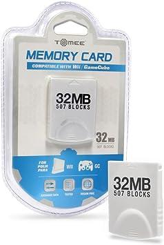 Amazon.com: Tarjeta de memoria de 32 MB de Wii/Gamecube (507 ...