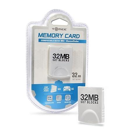 Wii/Gamecube 32 MB tarjeta de memoria (507 Blocks ...