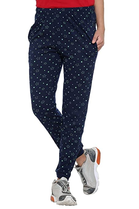 Vimal Cotton Blended Women's Trackpants Women's Sports Trousers at amazon