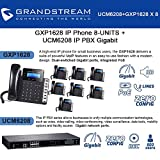 Grandstream GXP1628 IP Phone 8-UNITS + UCM6208 8