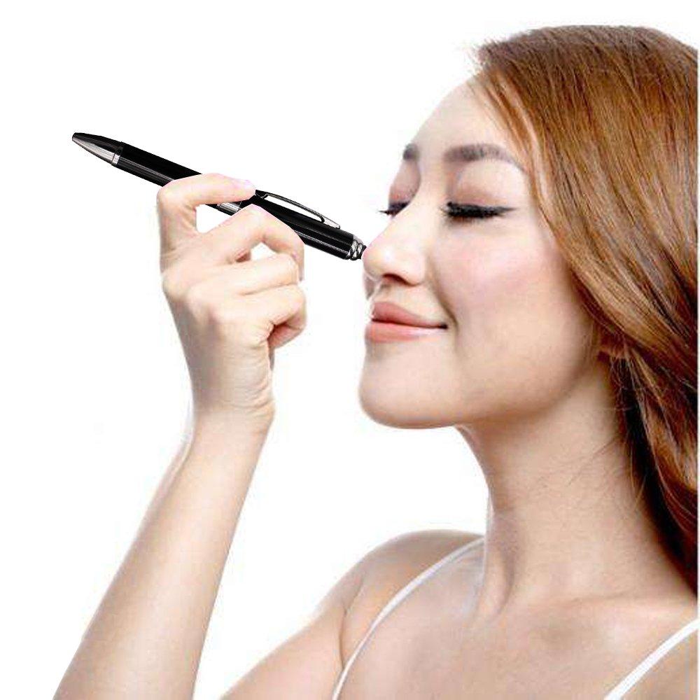 2 in 1 Vibration & massage ballpoint pen - mini Massage Tip Pen with Gift Box - Multifunction Electronic Pen (Black) by JASON YUEN (Image #9)