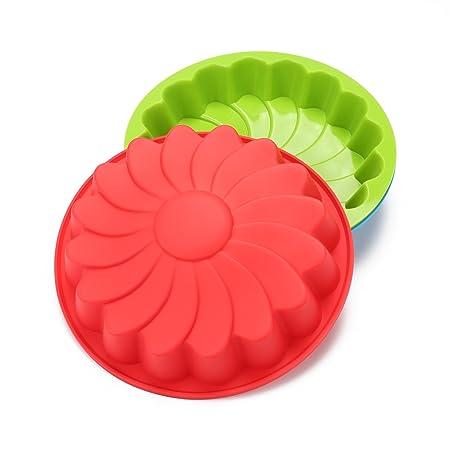 PingZhi Herramientas de fondant flor flor azúcar moldes Cupcake ...