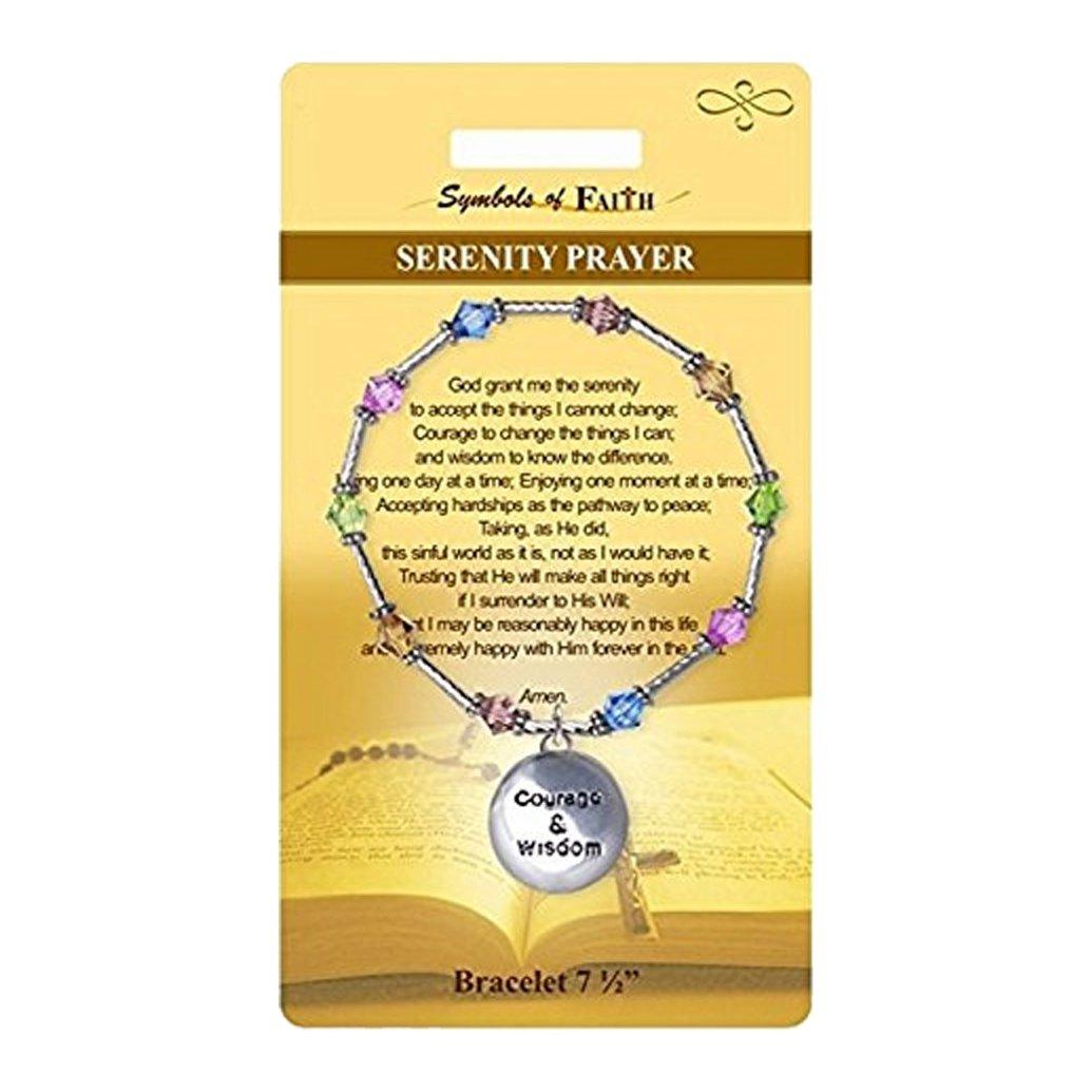 Amazon com: Lonestar Jewelry Serenity Prayer Beaded Bracelet