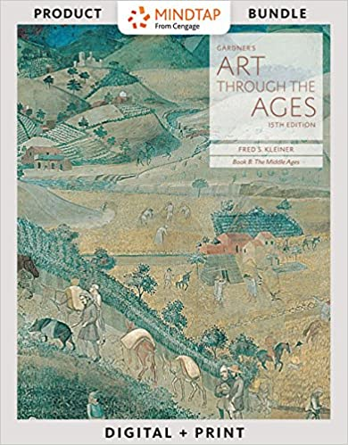 bundle gardners art through the ages backpack edition book b the middle ages loose leaf version 15th lms integrated for mindtap art 2 terms 12 months printed access card