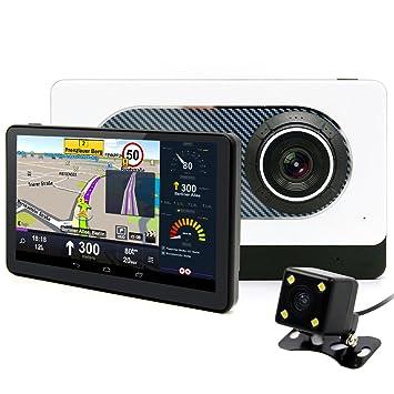 """Junsun Navegador GPS para Coche 7"""" Pantalla Táctil con Cámara de Coches DVR Bluetooth Mapa"""