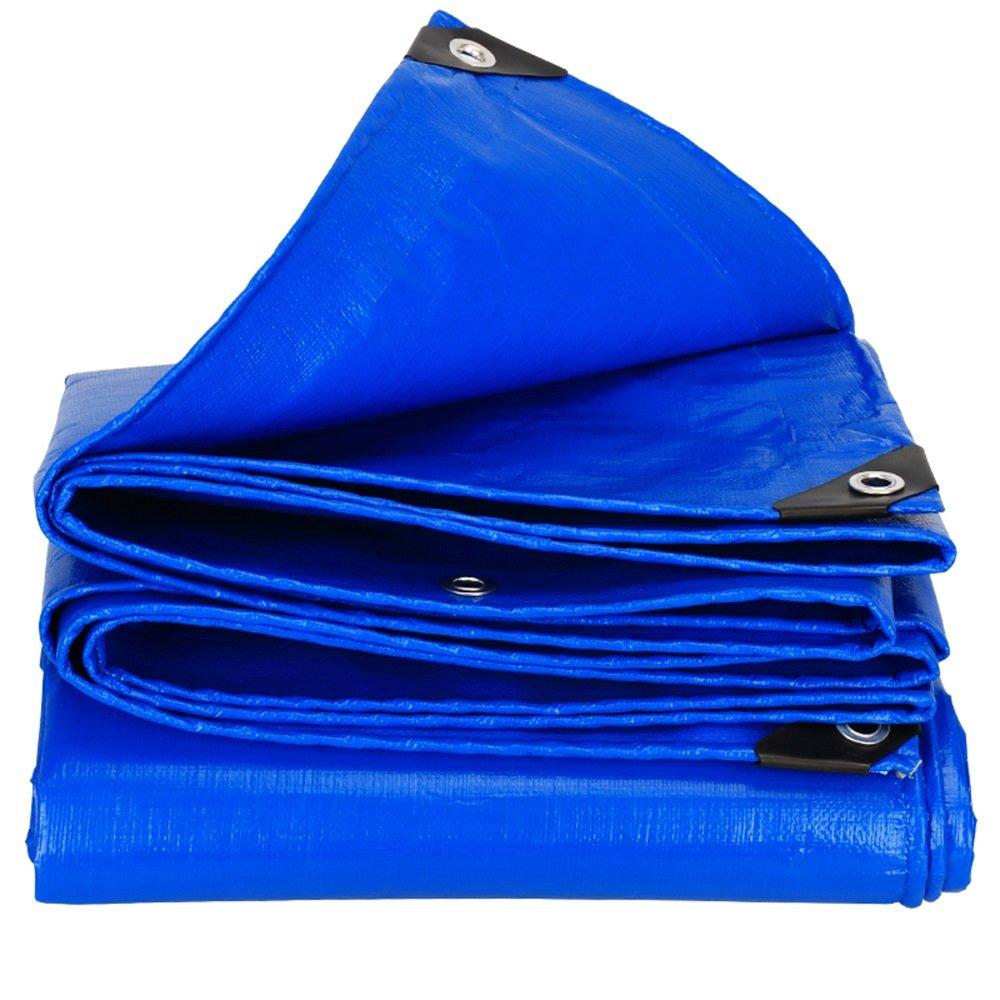 パッド入り防水日除け布/屋外日よけ布/青0.35mm防水シート/トラック用ウインドシールド防雨布/雨布断熱布 ( 色 : 青 , サイズ さいず : 3*5m ) B07CM5C72H 3*5m|青 青 3*5m
