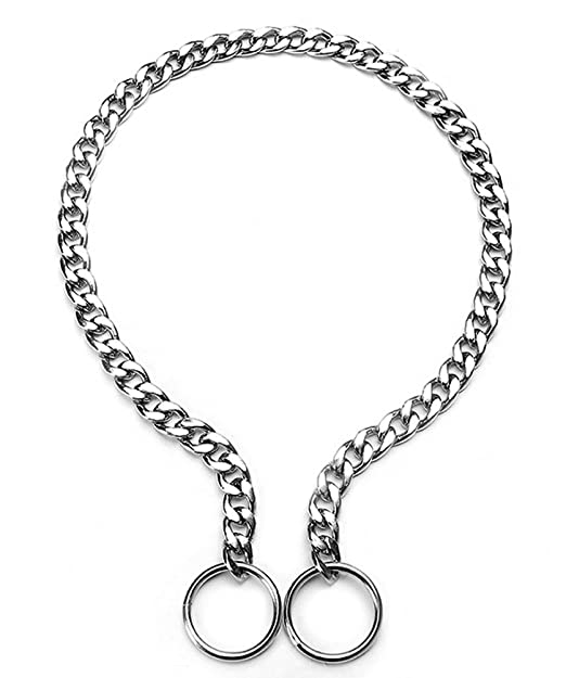 Amazon Com Sgoda Chain Dog Training Martingale Collar 16 In 2 0