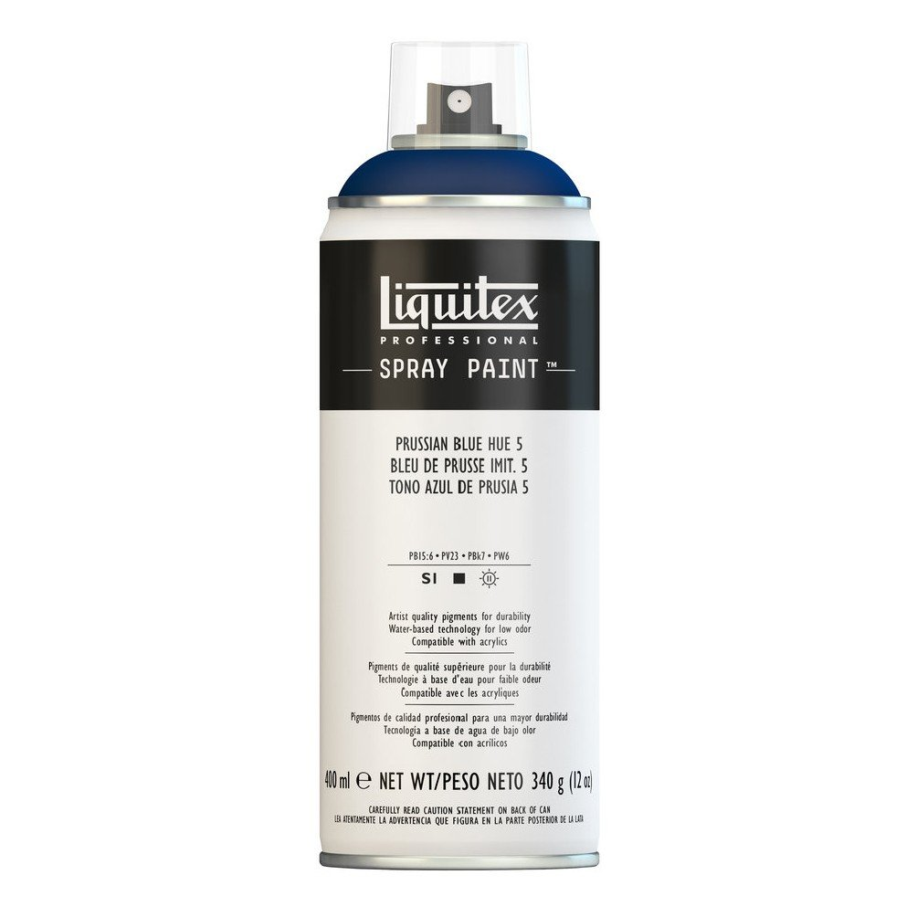 Liquitex プロフェッショナル スプレーペイント 12オンス 400ml Can ブルー 4455320 B008N7HMQM Prussian Blue Hue 5 Prussian Blue Hue 5