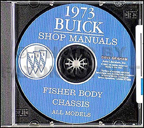 1973 Buick Repair Shop Manual CD-ROM - All Models