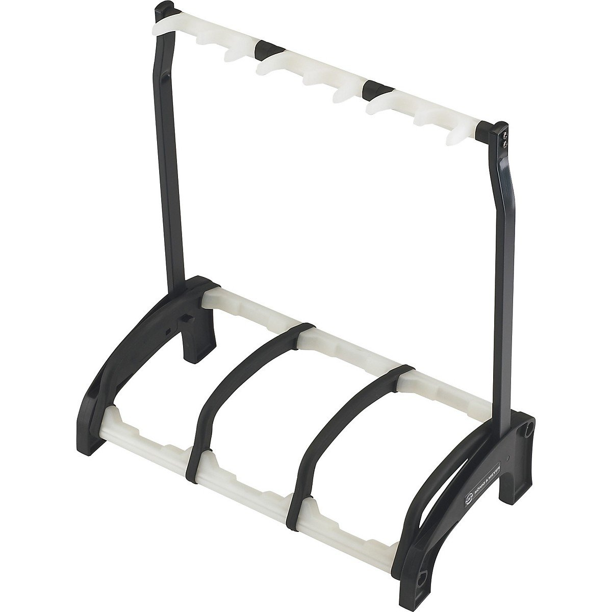 Konig K&M 17513 Three guitar stand »Guardian 3« black with translucent support elements B004W1YZC2