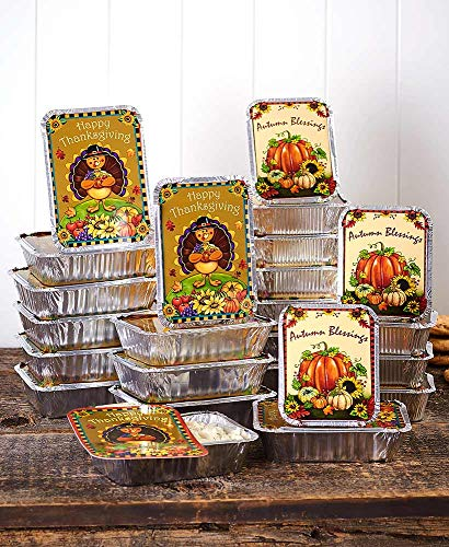Aluminum Food Containers for Thanksgiving,