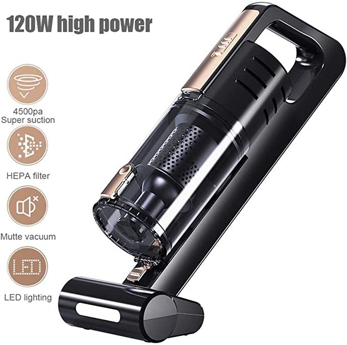 DYHQQ Corded Car Vacuum Cleaner, DC12 Volt WetDry Portable