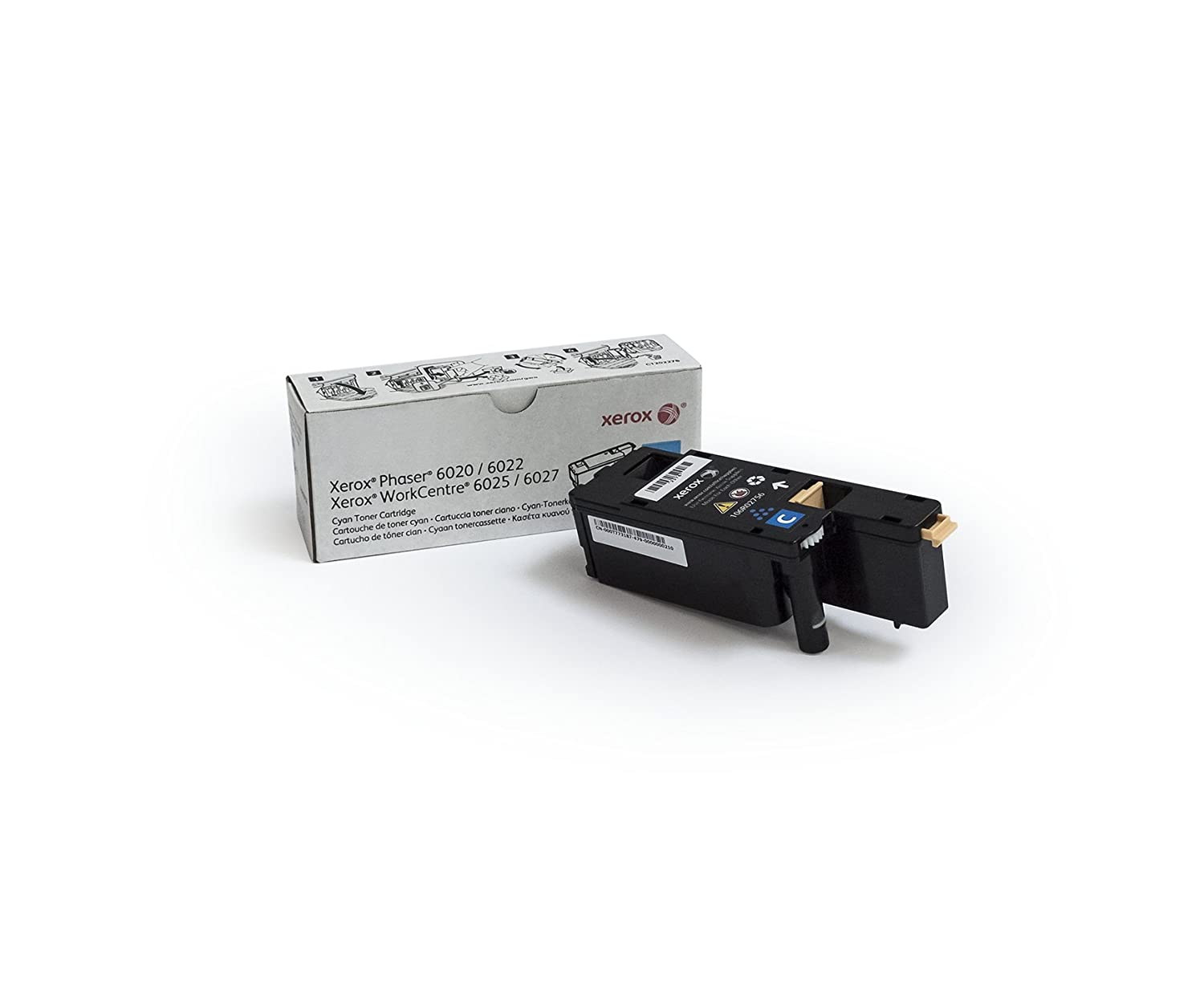 Genuine Xerox Magenta Toner for the Phaser 6022 or WorkCentre 6027, 106R02757
