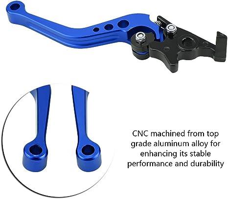 Elerose Ein Paar 22 Mm 7 8 Cnc Aluminium Universal Kupplungstrommel Bremshebel Blau Auto