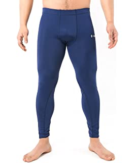 f932913c0acd5 samfavo Men's Running Fitness Workout Skin Tights Compression Base Layer  Pants