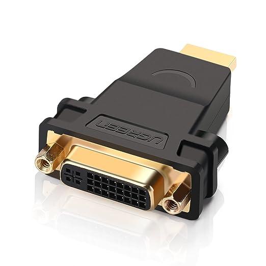 2 opinioni per DVI su HDMI, Ugreen Adattatore da HDMI Maschio a DVI-I 24+5 Femmina Full HD