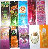 30 Indoor Tanning Bed Sample Packs Packages Suntan Lotion Bronzers Ect.
