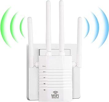 1200Mbps Repetidor WiFi Amplificador Señal WiFi Banda Dual ...