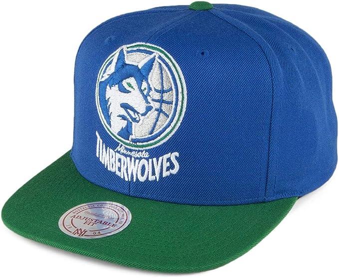 Gorra XL Logo 2 Tone Minnesota Timberwolves Mitchell & Ness-Azul ...