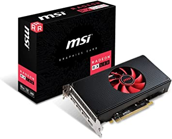 MSI Gaming Radeon RX 580 256-bit 8GB GDRR5 DirectX 12 VR Ready CFX Graphics Card (RX 580 8G V1)